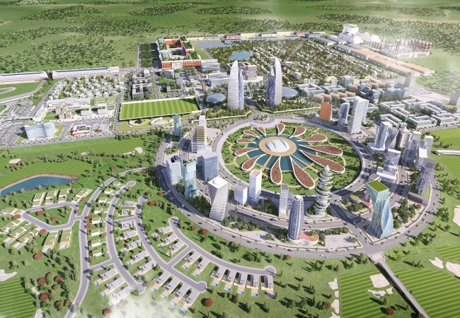 World Class Team to Build this New African City in Ghana
