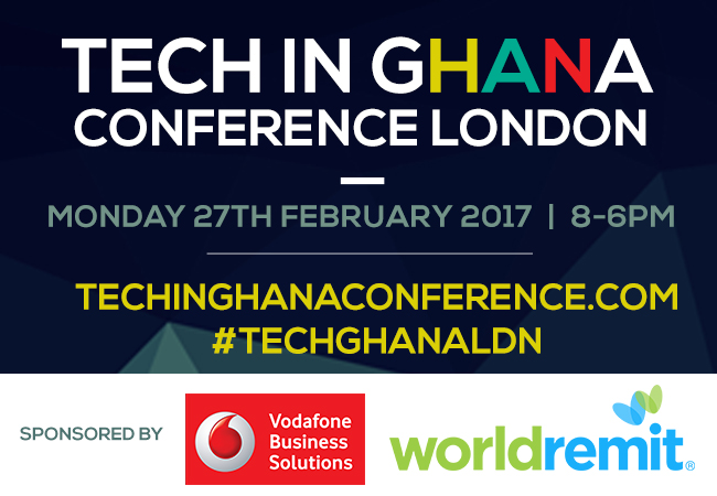 Vodafone and Bank of Ghana Confirmed to Attend Tech Conference in London