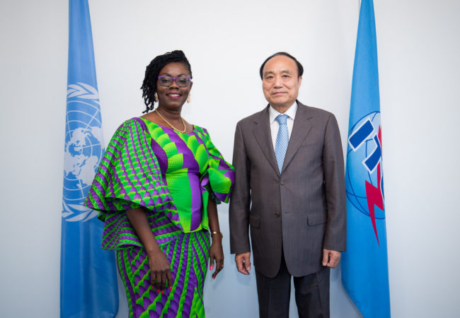 Video: Watch Minister Deliver Ghana's Communications Policy in Argentina