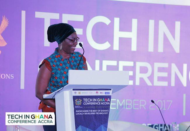 Hon Ursula Owusu-Ekuful Opens Tech in Ghana Conference 2017 in Accra
