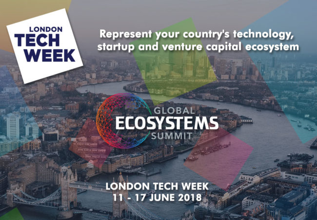 Join Africa Delegation at Global Ecosystems Summit 2018