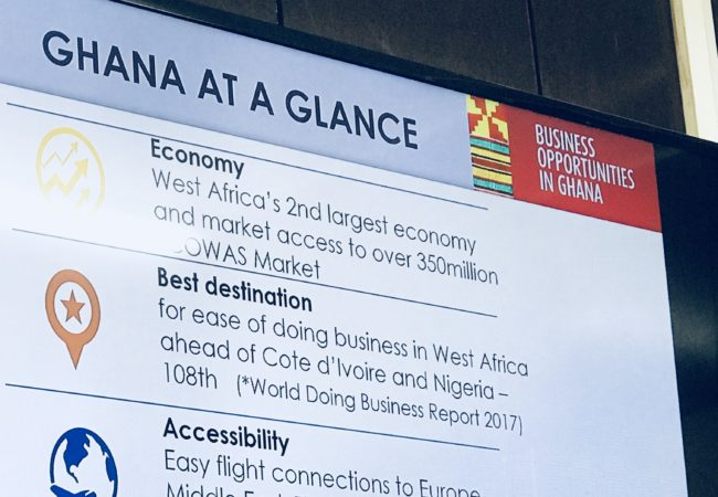 Photos: Ghana Business and Investment Mission 2018